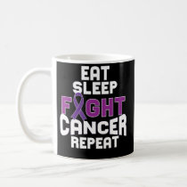 Pancreatic Cancer Awareness Coffee Mug Purple