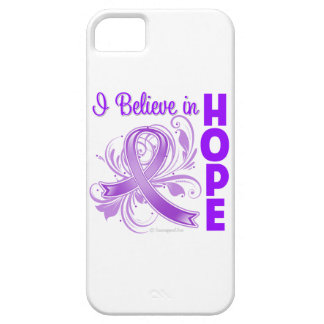 Pancreatic Cancer Awareness I Believe in Hope iPhone 5 Cases