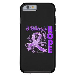 Pancreatic Cancer Awareness I Believe in Hope iPhone 6 Case