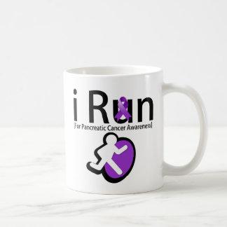 Pancreatic Cancer Awareness I Run Classic White Coffee Mug