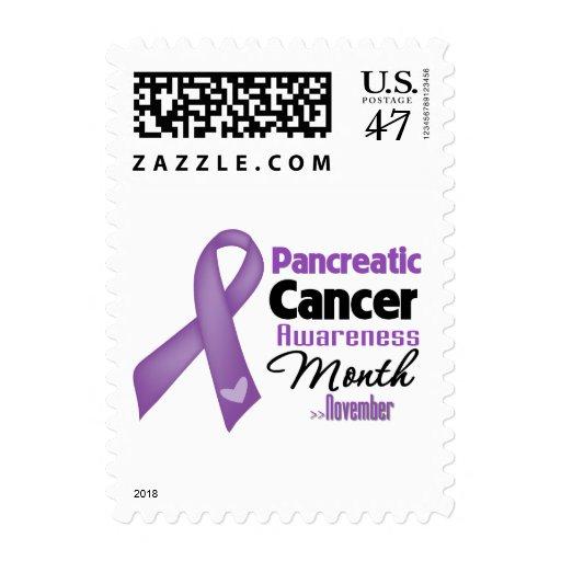 Pancreatic Cancer Awareness Month Postage