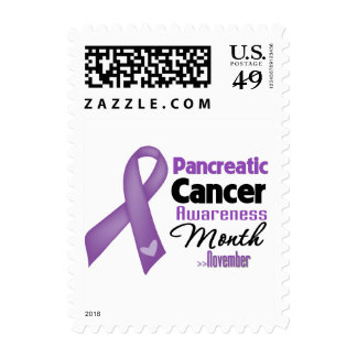 Pancreatic Cancer Awareness Month Postage Stamp