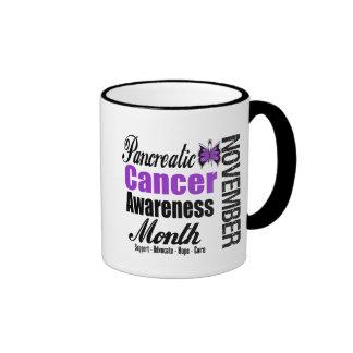 Pancreatic Cancer Awareness Month v2 Mugs