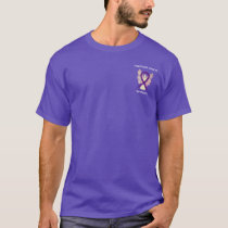 Pancreatic Cancer Awareness Ribbon Angel Shirts