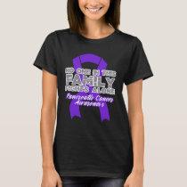 Pancreatic Cancer Awareness Shirt Purple Ribbon