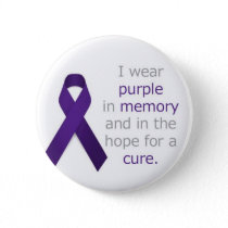 Pancreatic Cancer Badge Button