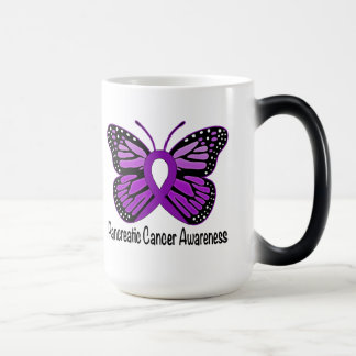Pancreatic Cancer Butterfly Magic Mug
