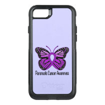 Pancreatic Cancer Butterfly OtterBox Commuter iPhone 8/7 Case