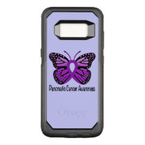 Pancreatic Cancer Butterfly OtterBox Commuter Samsung Galaxy S8 Case