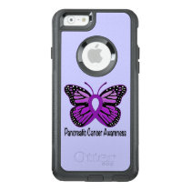 Pancreatic Cancer Butterfly OtterBox iPhone 6/6s Case