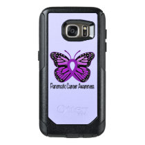 Pancreatic Cancer Butterfly OtterBox Samsung Galaxy S7 Case