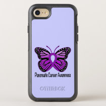 Pancreatic Cancer Butterfly OtterBox Symmetry iPhone 8/7 Case