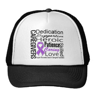 Pancreatic Cancer Caregivers Collage Trucker Hat