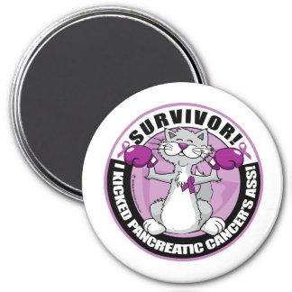 Pancreatic Cancer Cat Survivor Magnet