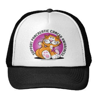Pancreatic Cancer Cat Trucker Hat