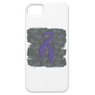 Pancreatic Cancer Fight Defy Win iPhone 5 Case