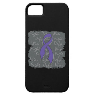 Pancreatic Cancer Fight Defy Win iPhone 5 Covers