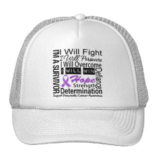 Pancreatic Cancer Fight Persevere Overcome Win Hat