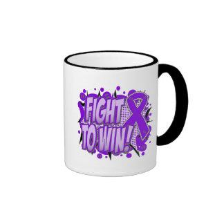 Pancreatic Cancer Fight To Win Ringer Coffee Mug