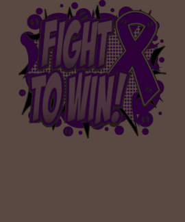 Pancreatic Cancer Fight To Win T-shirt