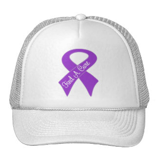 Pancreatic Cancer Find a Cure Mesh Hat