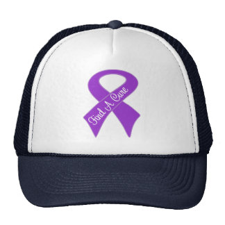 Pancreatic Cancer Find a Cure Trucker Hats