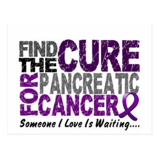Pancreatic Cancer FIND THE CURE 1 Postcard
