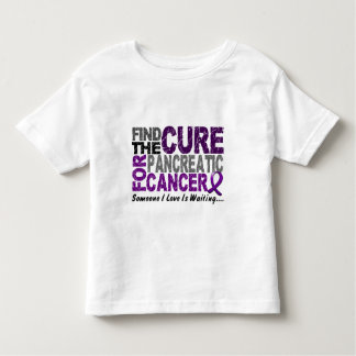 Pancreatic Cancer FIND THE CURE 1 Toddler T-shirt