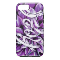 Pancreatic cancer floral hope products iPhone 8/7 case
