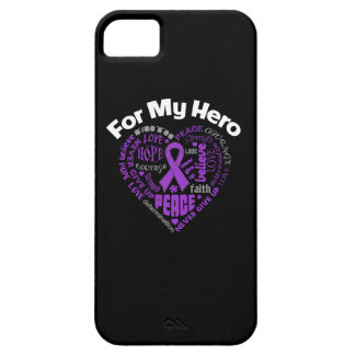 Pancreatic Cancer For My Hero iPhone 5 Cover