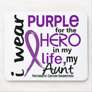 Pancreatic Cancer For My Hero My Aunt 2 Mouse Mat