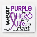 Pancreatic Cancer For My Hero My Aunt 2 Mouse Pad