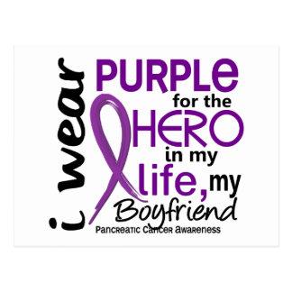 Pancreatic Cancer For My Hero My Boyfriend 2 Postcards