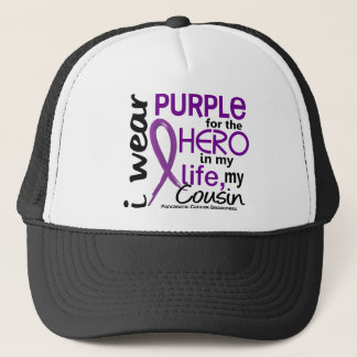 Pancreatic Cancer For My Hero My Cousin 2 Trucker Hat