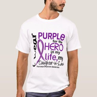 Pancreatic Cancer For My Hero My Daughter-In-Law 2 T-Shirt