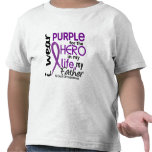 Pancreatic Cancer For My Hero My Father 2 Shirts