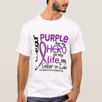 Pancreatic Cancer For My Hero My Father-In-Law 2 T-Shirt