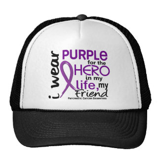 Pancreatic Cancer For My Hero My Friend 2 Trucker Hat
