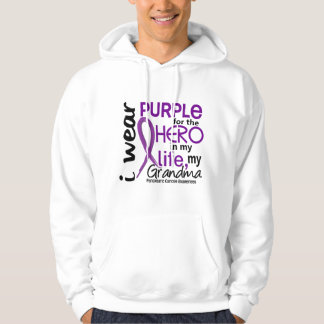 Pancreatic Cancer For My Hero My Grandma 2 Hoodie