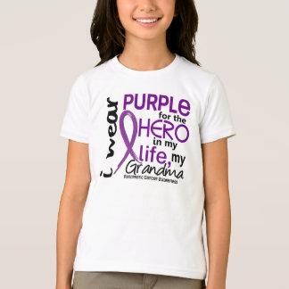 Pancreatic Cancer For My Hero My Grandma 2 T-Shirt