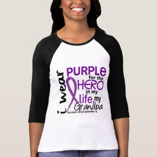 Pancreatic Cancer For My Hero My Grandpa 2 T-shirt