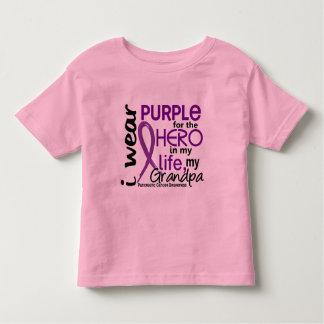 Pancreatic Cancer For My Hero My Grandpa 2 Toddler T-shirt