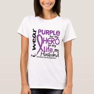 Pancreatic Cancer For My Hero My Husband 2 T-Shirt
