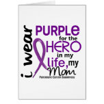 Pancreatic Cancer For My Hero My Mom 2 Greeting Card
