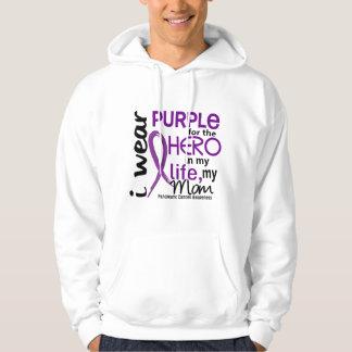 Pancreatic Cancer For My Hero My Mom 2 Hoodie