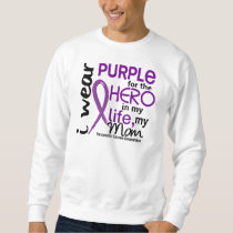 Pancreatic Cancer For My Hero My Mom 2 Sweatshirt