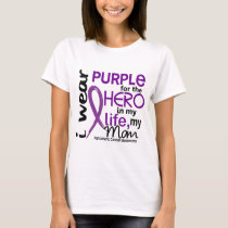 Pancreatic Cancer For My Hero My Mom 2 T-Shirt