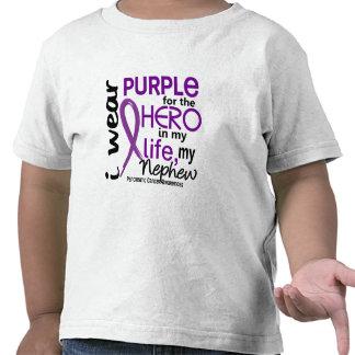 Pancreatic Cancer For My Hero My Nephew 2 Tees