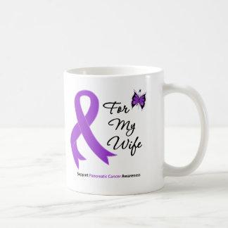 Pancreatic Cancer For My Wife Classic White Coffee Mug