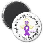 Pancreatic Cancer God Made My Hero An Angel Fridge Magnet